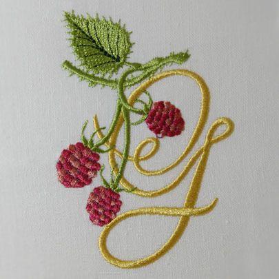 Wild Raspberries Alphabet- G