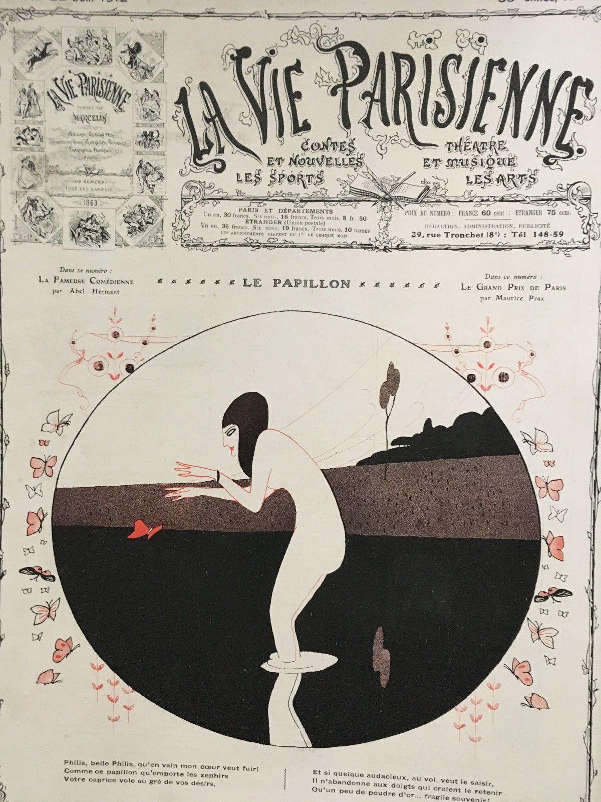 Art Et Decoration Juin 2017 paul iribe (1883 – 1935). la vie parisienne, 22 juin 1912