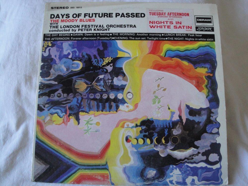 THE MOODY BLUES DAYS OF FUTURE PASSED VINYL NIGHTS IN WHITE SATIN LONDON KNIGHT #BluesRockBritishInvasionBritpopEmoExperimentalRockFolkCountryRockGarageRockPsychedelicRockRocknRoll