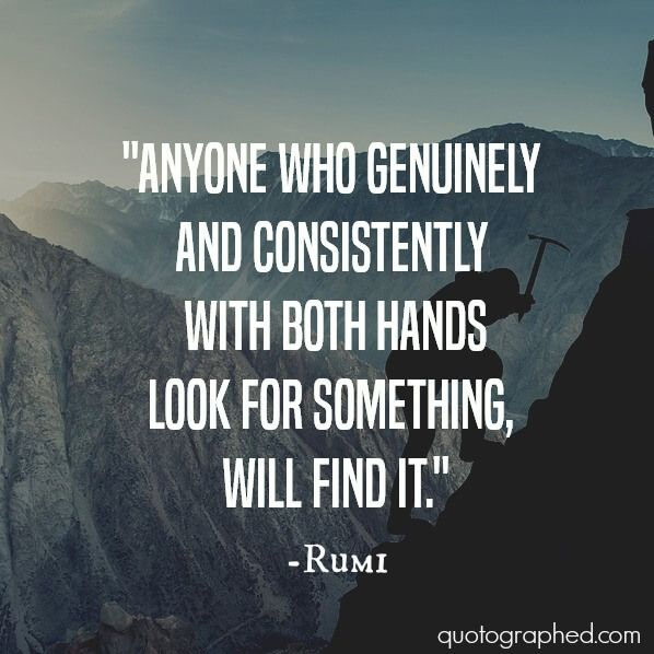 Image result for rumi on consistency