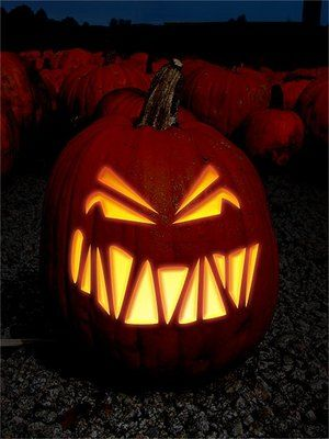 Scary Halloween Pumpkin Carvings | ... to Find Free Halloween ...