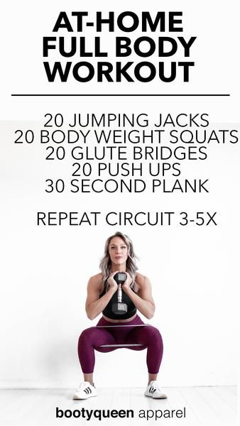 At-Home Full Body Workout for Women On-the-Go
