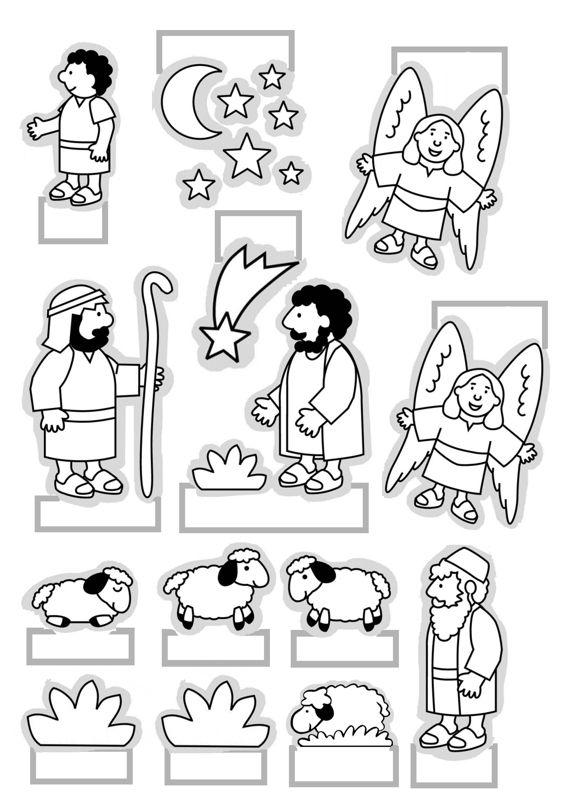 Knutselen Kijkdoos Kerststal Knutselen Voor Kinderen