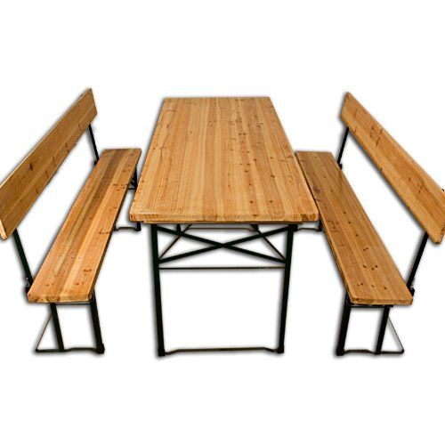 £82.95 (can remove backrest) Garden Furniture Table and Bench Set - wooden Beer Tent T... https://www.amazon.co.uk/dp/B00BVIL97S/ref=cm_sw_r_pi_dp_x_pwSXybKSQZR46