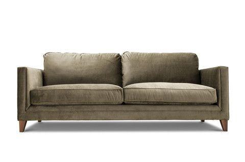 Benton Custom Affordable Mid Century Modern Sofa Clad Home Mid Century Modern Sofa Modern Sofa