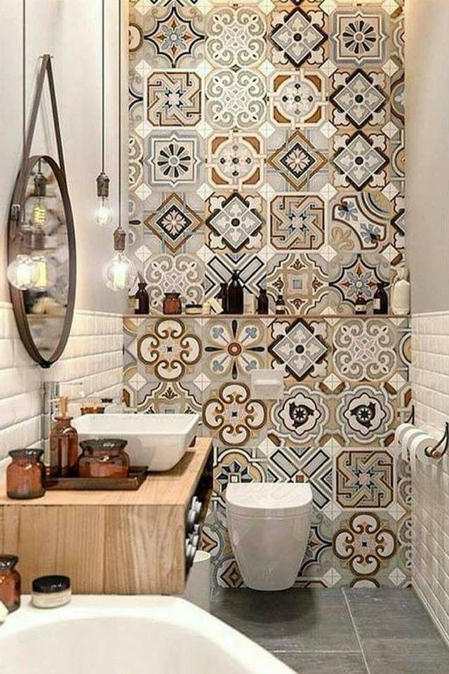 U003c3 #bathroom #bathroomdesign #bathroomideas #bathroomdecor #design #tiles # Mosaic