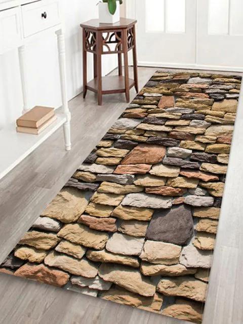 stone wall print flannel floor mat indoor outdoor area on walls coveralls website id=89254