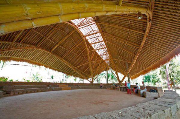 arquitetura com bambu - Pesquisa Google