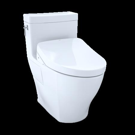 Strange Toto Washlet Kit Aimes One Piece Elongated 1 28 Gpf Toilet Ncnpc Chair Design For Home Ncnpcorg