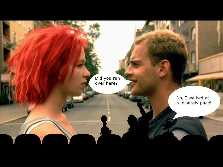run lola run cinematography In this chapter, we discussed the cinematography - run lola run introduction cinematography is the part focus more on the tome, motion, movement, angles, shots, and cinematic point of view.