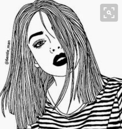 Tumblr Drawing Merken Pinterest Drawings - Hairstyle drawing tumblr