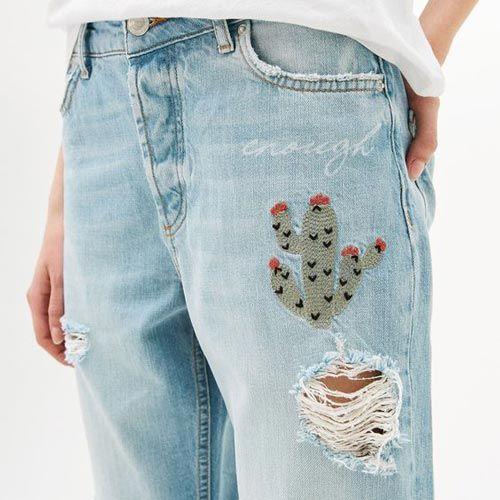 Cómo arreglar tus jeans favoritos: customizando - Mercería ...