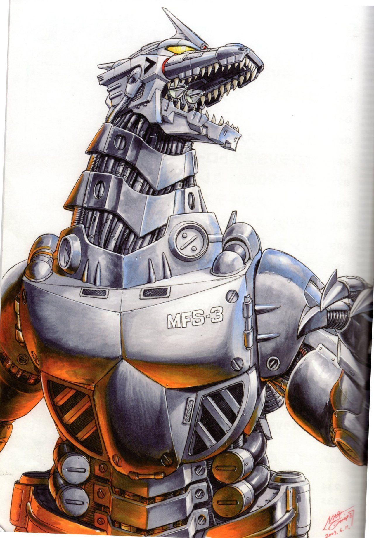 "chernobog13 ""The Kiryuversion of Mechagodzilla for the"
