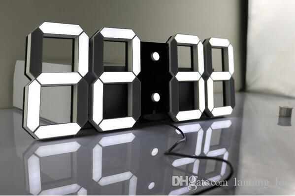 Tick Tock Round Clocks For Walls Various Shapes Of Round Digital