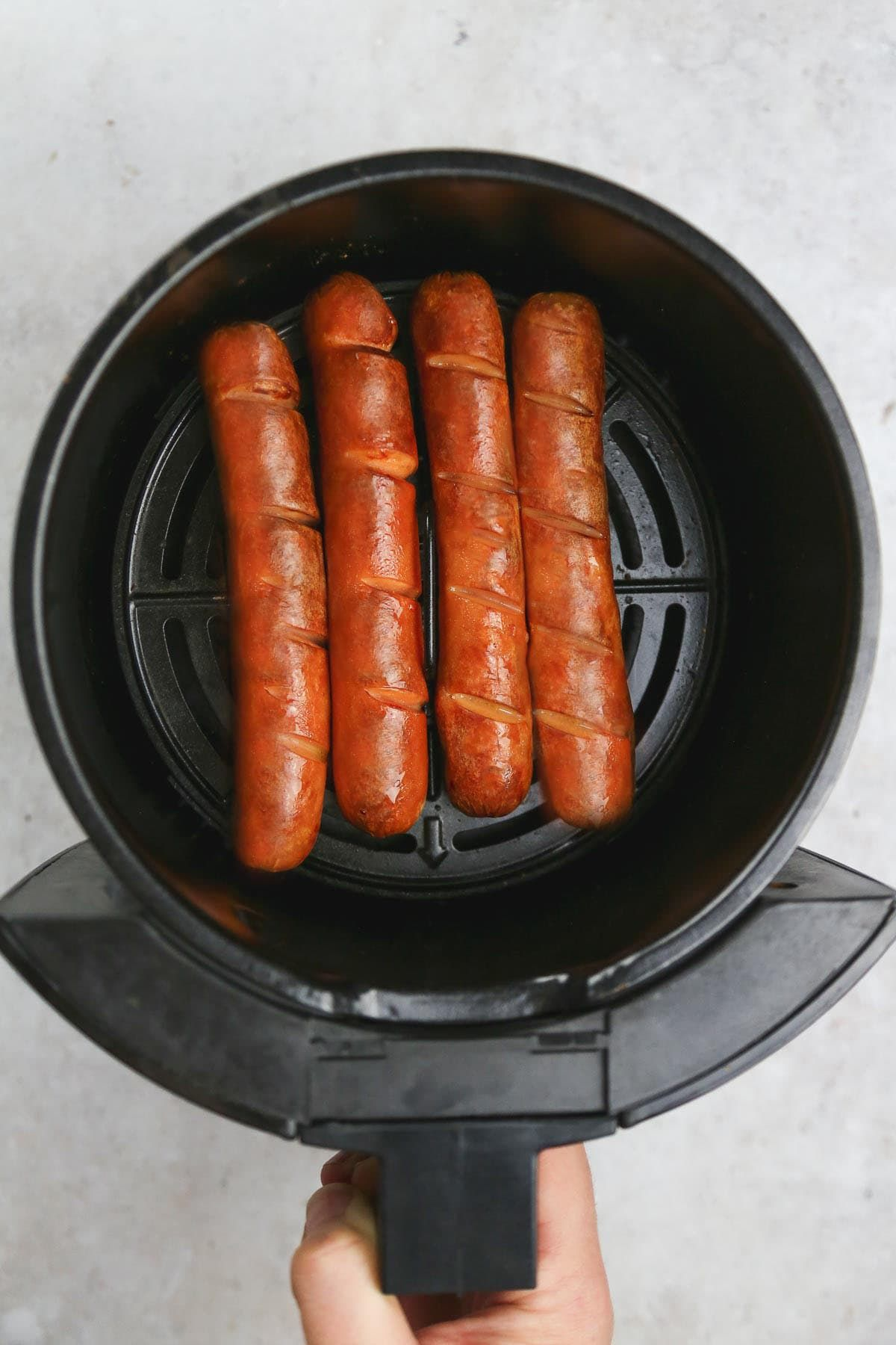 Crunchy Air Fryer Hot Dogs Little Sunny Kitchen Hot