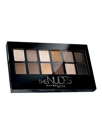 Paleta de sombras The Nudes Maybelline | 12.99€
