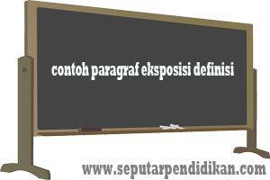 Contoh Paragraf Eksposisi Definisi Seputar Pendidikan Online