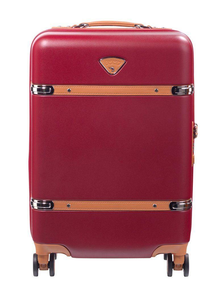 Valise cabine rigide Jump Cassis 55 cm Rouge tlK9S2QWx5