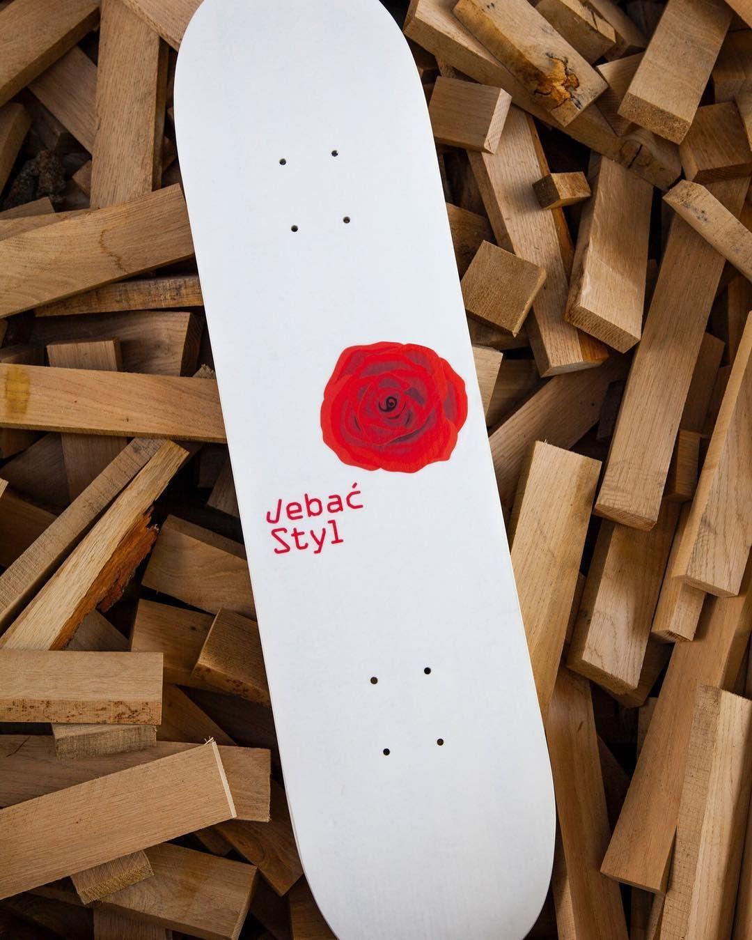 Instagram #skateboarding photo by @mrozekworkshop - NEW STUFF / JEBAĆ STYL / WWW.JEBACSTYL.PL #skateboards #skate #skateboarding #skateeverydamnday  #deck #sk8 #ptg #katowice #sk8girl #bangin #benger #design #mrozekworkshop. Support your local skate shop: SkateboardCity.co