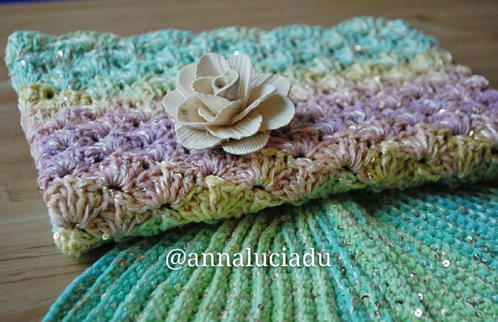(4) Name: 'Crocheting : crochet mermaid blanket