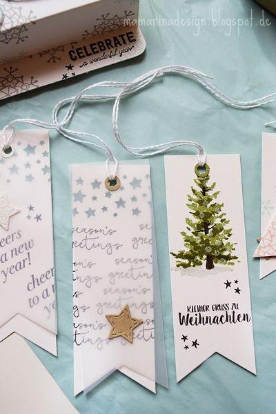 Geschenkanhänger hübsch verpackt (DIY)