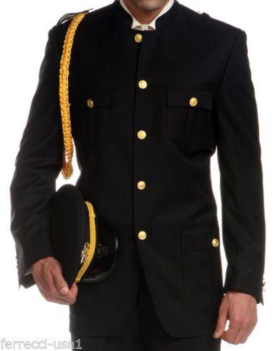 1252ba76c5d7b Mens-Military-Cadet-Captain-Army-Uniform-Costume-Party-Film-Quinceanera