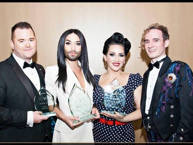 Michelle Visage Receives Straight Ally Award in Glasgow