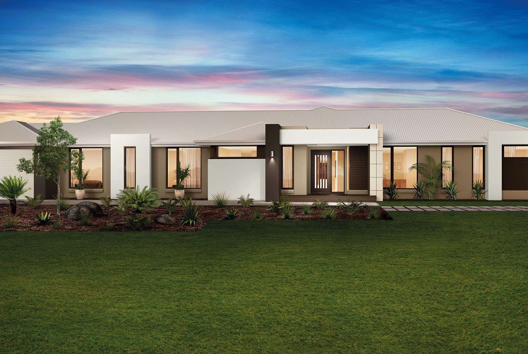 Colorado 38 Modern Facade House Design New Home Designs
