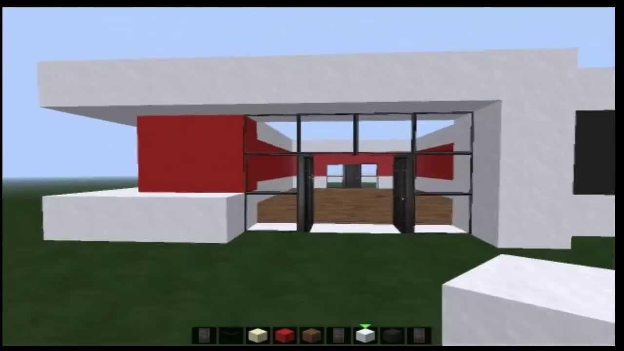 Minecraft Tutorial Geile Moderne Villa Bauen Part 1 Minecraft