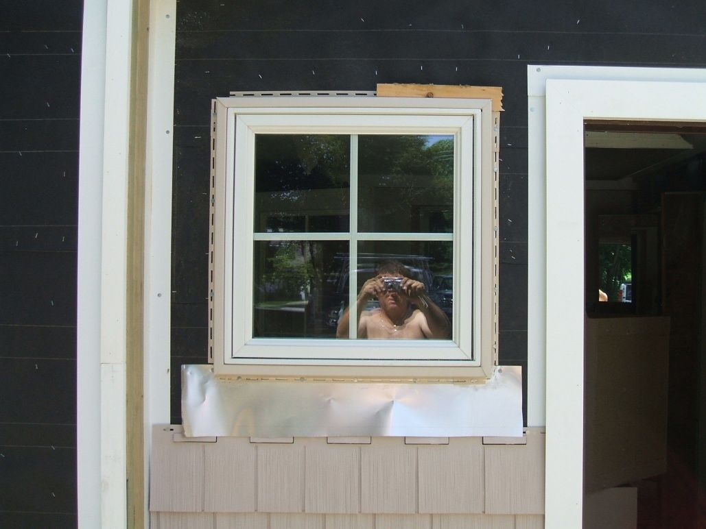 1x6 Pvc Trim Around New Construction Window Idea Contractor Talk Professional Construction And Remodeling For Vinyl Siding Trim Siding Trim Vinyl Siding