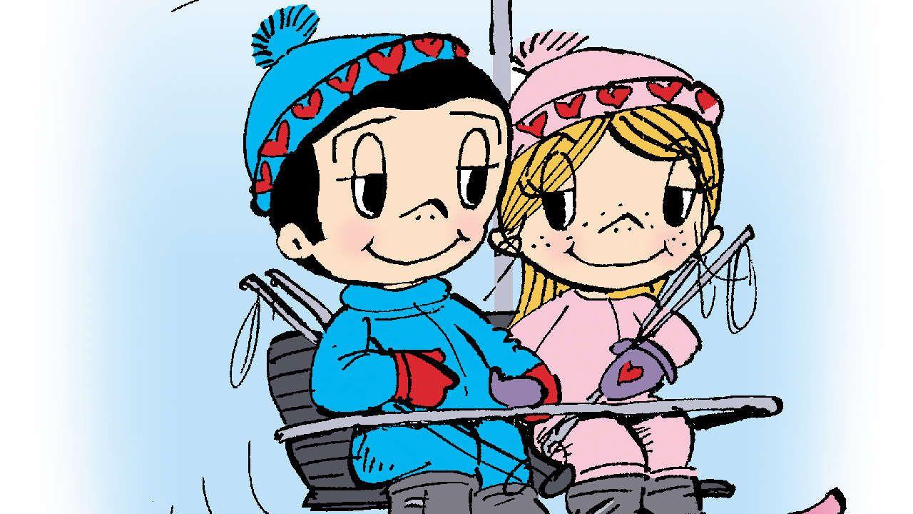 """Den legendären """"#Liebe #ist...""""-#Cartoon gibt es jetzt #jeden #Tag #neu - wie #romantisch!"""