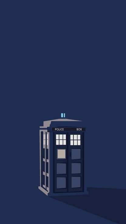 Doctor Who iPhone 5 wallpaper the Tardis | Wallpaper