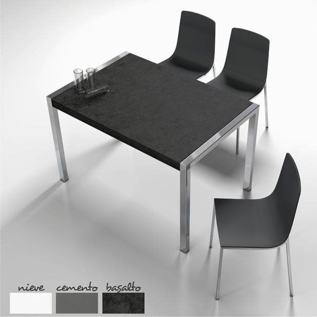 House or office table by cancio muebles nieve cemento for Cancio muebles