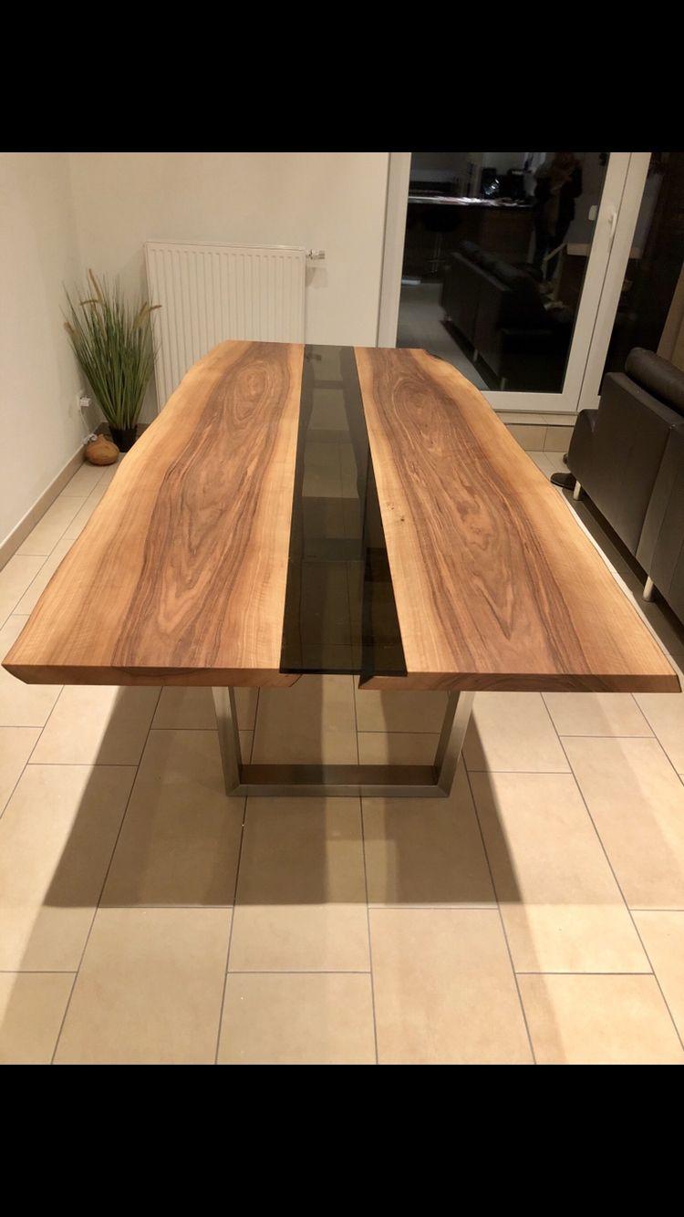 Pin By Daniel Kleer On Europaischer Nussbaum Tisch Dining Table Table Home Decor