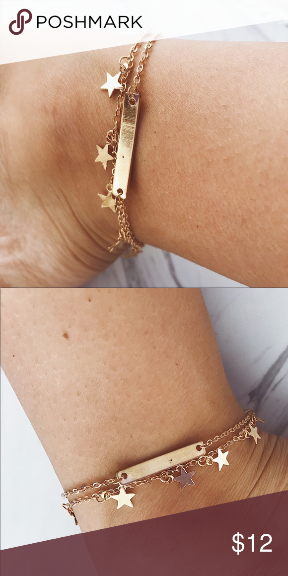 gold dainty bead satellite bracelet product anklet detail chain delicate simple
