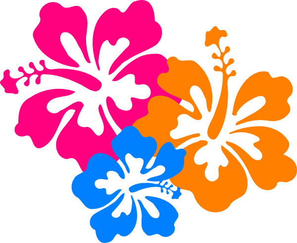 hawaiian flower clip art borders clipart panda free clipart rh pinterest com hawaii clip art pictures hawaiian clip art
