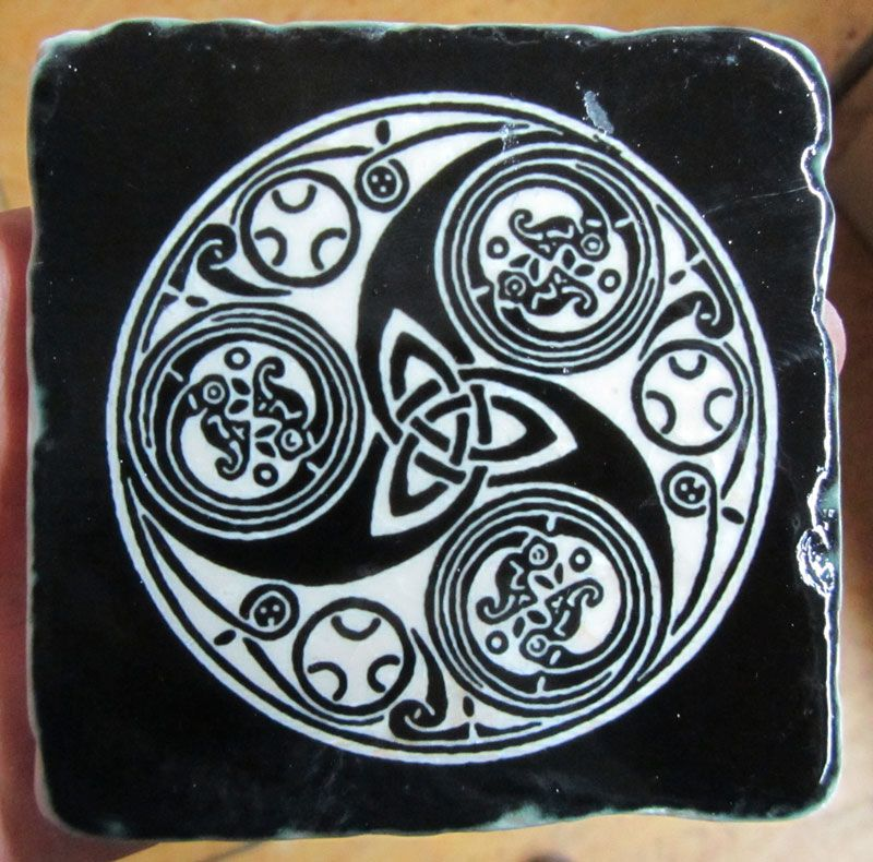 The Celtic Symbol Of Three Conjoined Spirals May Have Had Triple