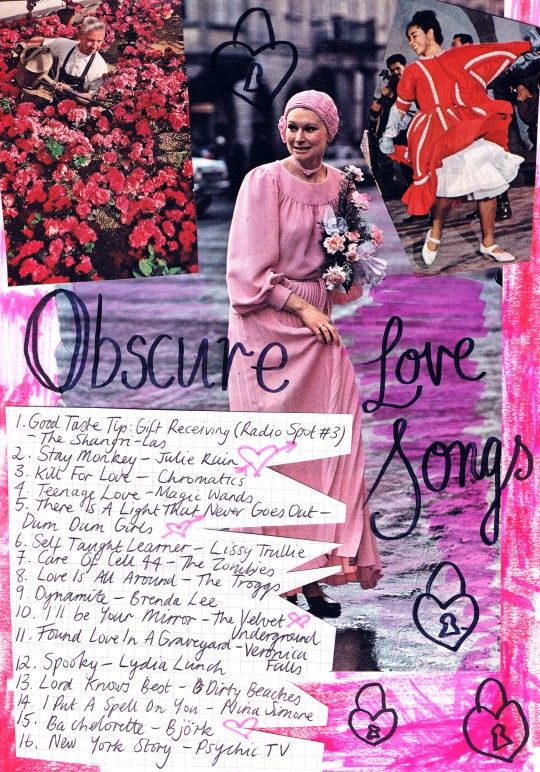 Friday Playlist Obscure Love Songs Pick Me Ups Song