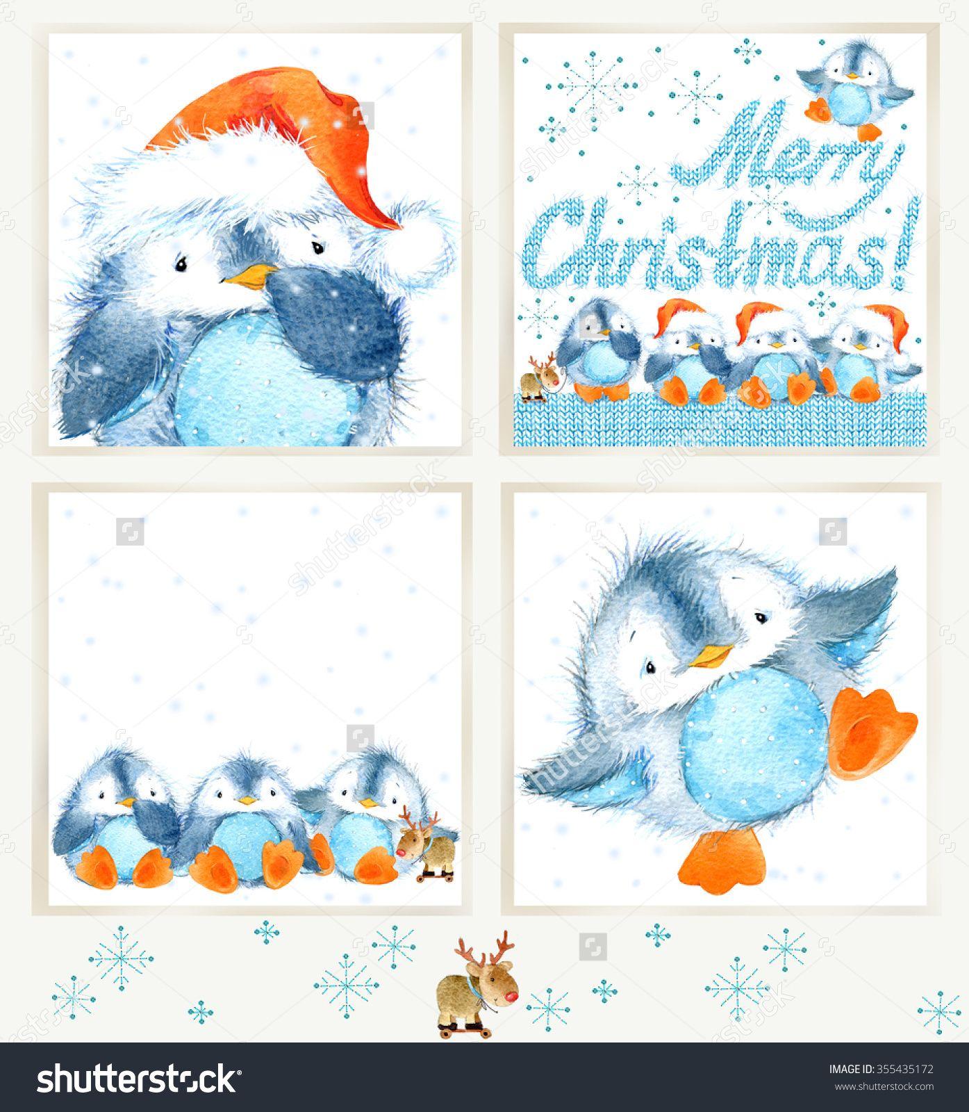 Afbeeldingsresultaat voor watercolor christmas cards