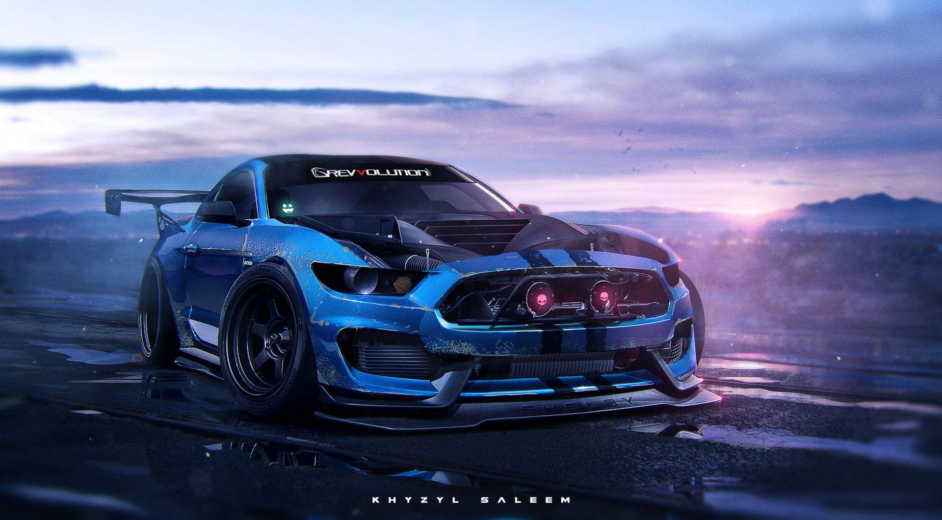 350arghh Khyzyl Saleem Sports Car Ford Mustang Shelby Mustang Wallpaper