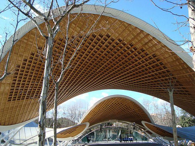 Auditorio Del Parque Del Paraíso San Blas Madrid Spain Natural Park