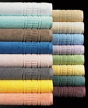 Martha Stewart Collection Plush Bath Towel Collection 100 Cotton