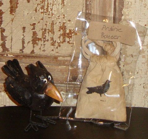 Prairie Butter Scented Crow Sachet