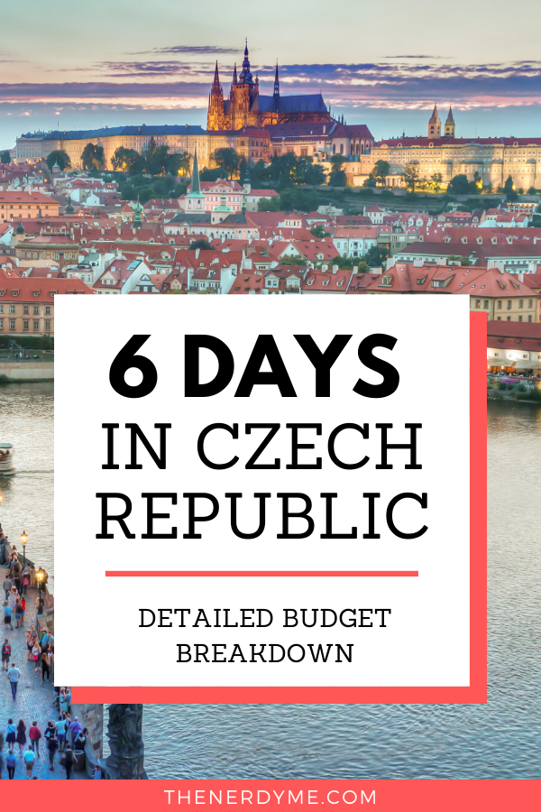 Wondering how much it costs to travel in Czech Republic? This is a detailed budget breakdown of a 6-day trip around Czech Republic including Prague, Brn and more.