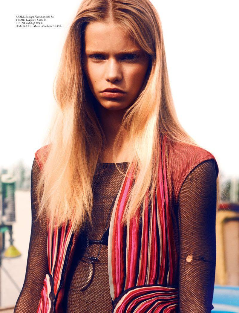 Kirstin Liljegren by Hasse Nielsen for Cover Magazine #76