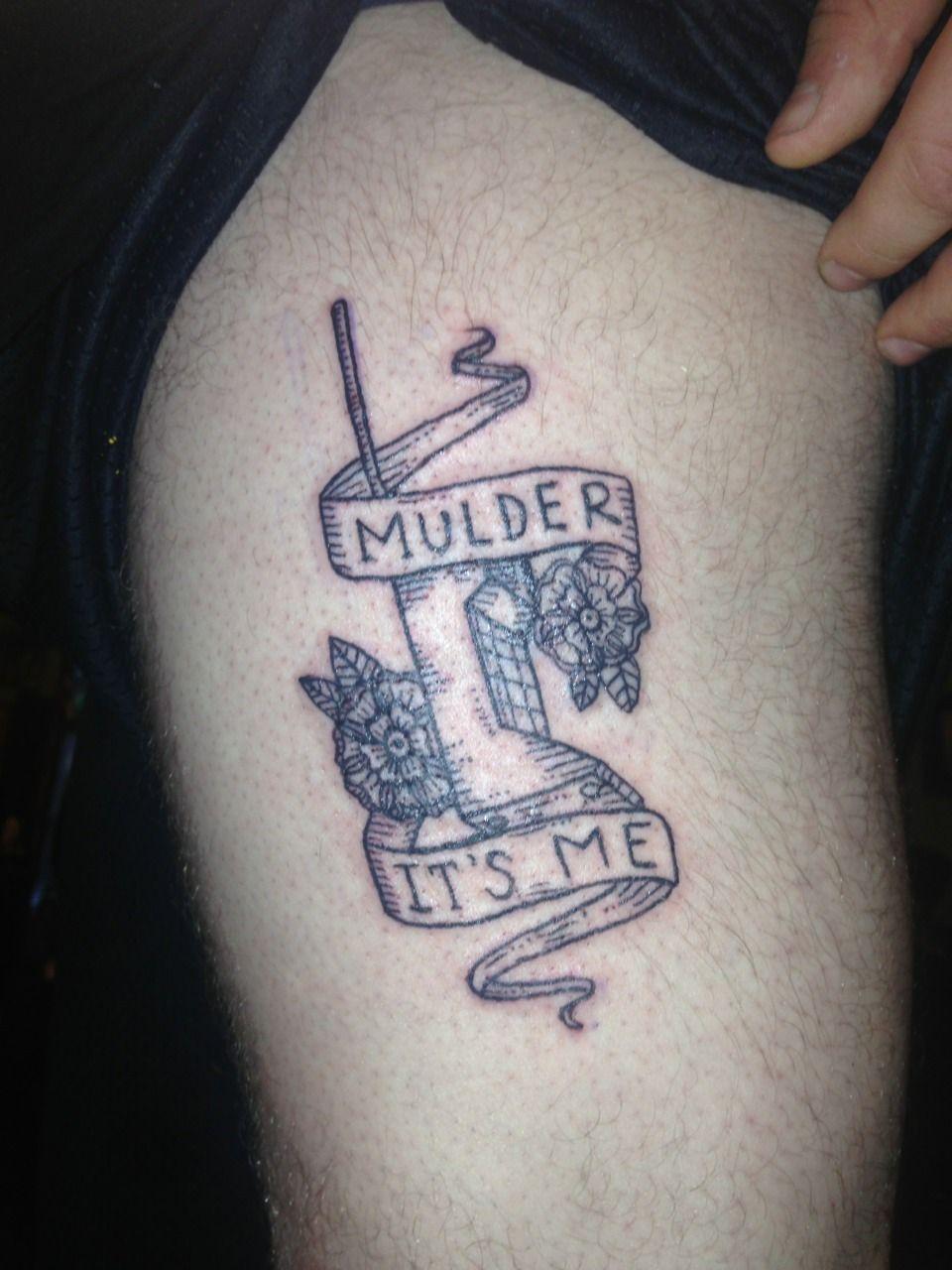 funny x files tattoo |...