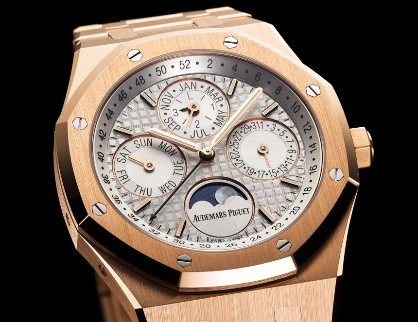 Four New Audemars Piguet Royal Oak Perpetual Calendar Watches For - how to make a perpetual calendar