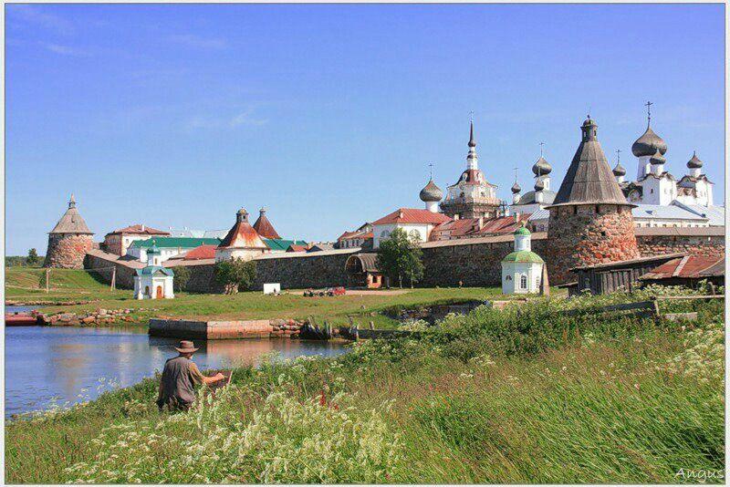 Solovki.    Russia