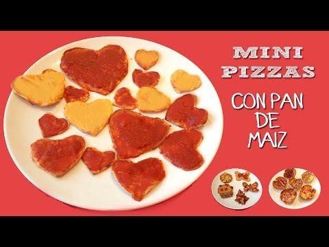 Mini pizzas para niños con pan de maiz | MiniChefs Cocina para niños