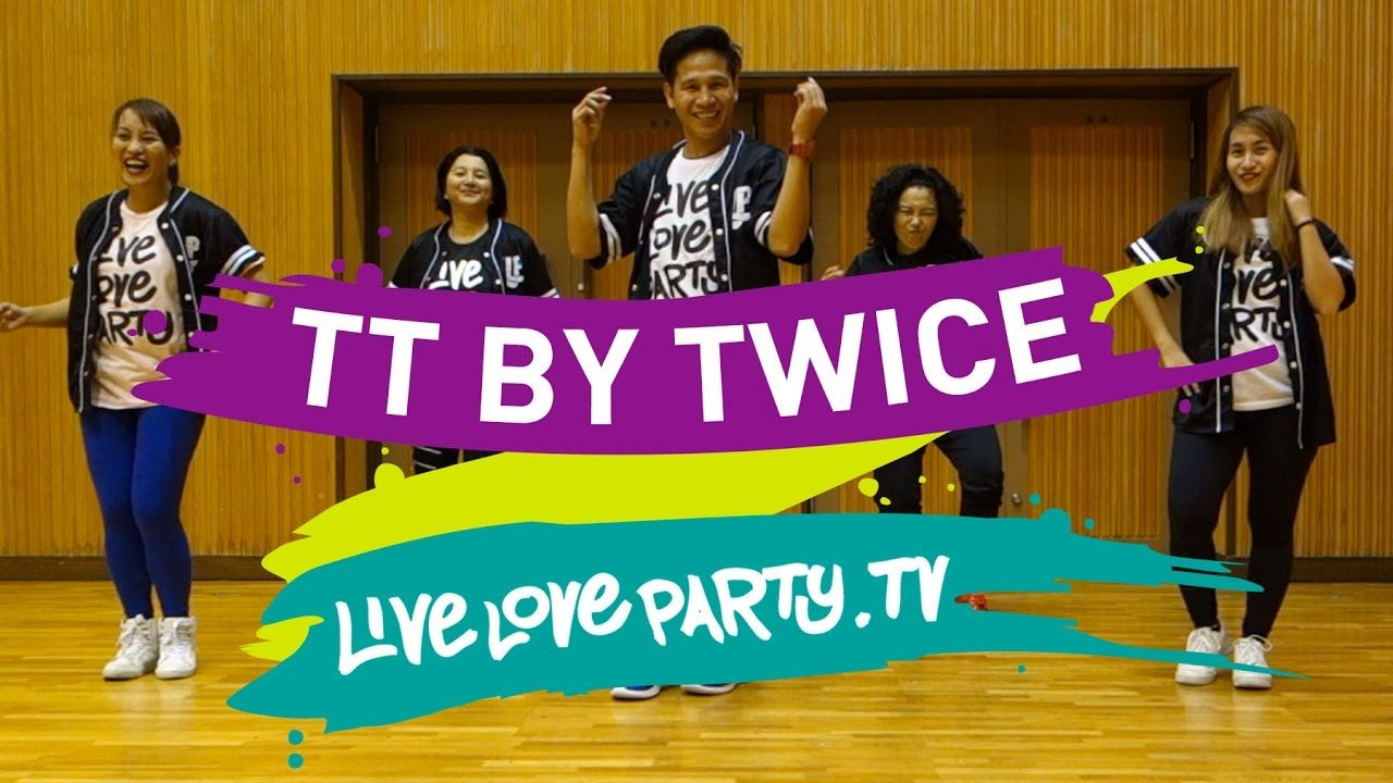 Tt By Twice Zumba Live Love Party Youtube Kpop Workout Zumba Dance Workout